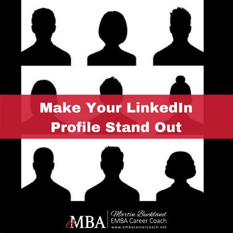 Mba Will Make You Stand Out by Make Your Emba Linkedin Profile Stand Out Emba Career Coach