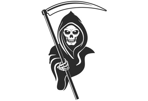grim reaper wall decal easy decals