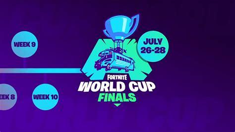 fortnite world cup details released  epic games shacknews