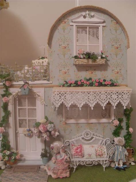 shabby chic cottage lindas miniature musings with the shabby chic