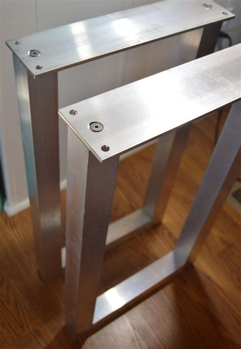 the best metal table legs 2 square set of 2 frame