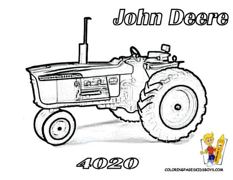 coloring page of john deere tractor free coloring pages of john deere logo