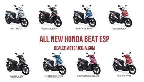 Funk White All New Beat Esp Cbs Honda Motor Otr Purwodadi spesifikasi dan harga motor all new honda beat esp terbaru