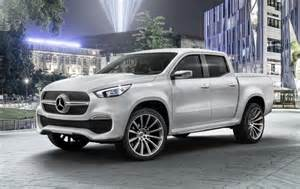 Mercedes Truck And 2018 Mercedes X Class