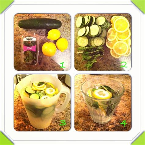 Detox Water 1 Gallon by Detox Water One Gallon Of Water One Cucumber Sliced 3