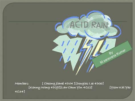 Acid Rain Authorstream Ppt Of Acid