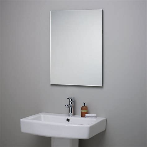 where to buy a bathroom mirror buy john lewis bevelled edge bathroom mirror john lewis