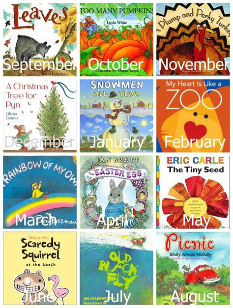 picture books by theme a year of preschool books activities reading confetti