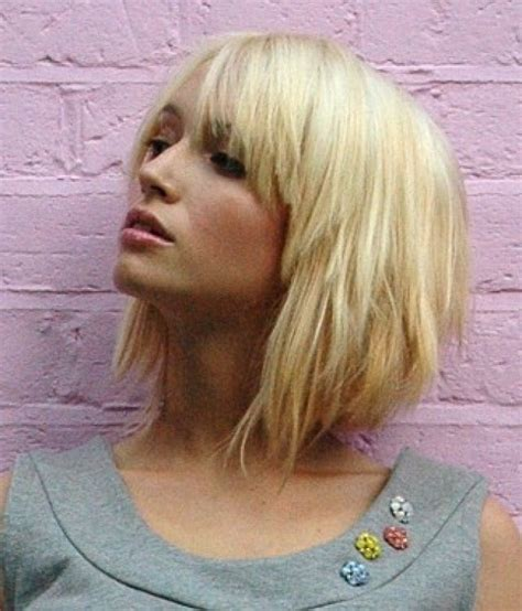 chunky layered bob hairstyles lots of chunky blonde layers 2015 hair trends for all