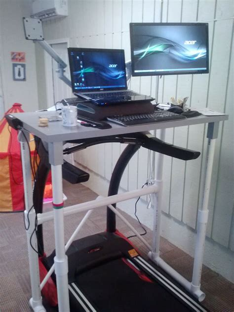 Diy Treadmill Desk Ikea Redetermine Diy Pvc Ikea Treadmill Desk J The Craftman Pinterest