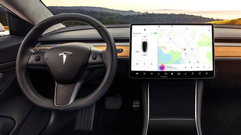 tesla model 3 interior 360 tesla model 3 s interior no buttons dials or knobs rennacs
