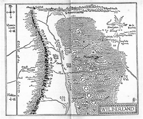a map of the the searchers books tolkien s own map of mirkwood the wilderland tolkien