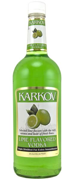 Green Lime 1 Liter Karkov Lime Vodka 1 Liter Buy Cheap Vodka