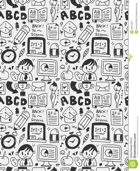 education doodle vector free education elements doodles line icon eps10