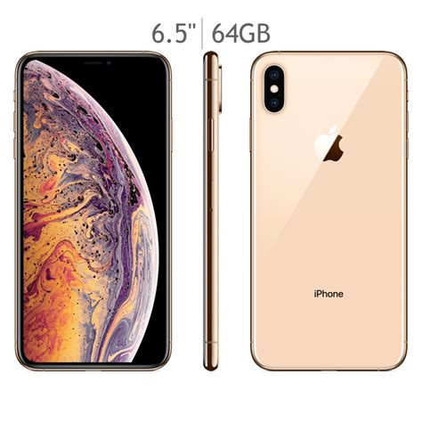 apple iphone xs max gold gb costco mexico