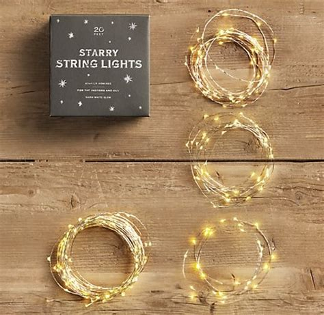 Save The Date Ideas Starry String Lights 2062568 Weddbook String Lights Restoration Hardware