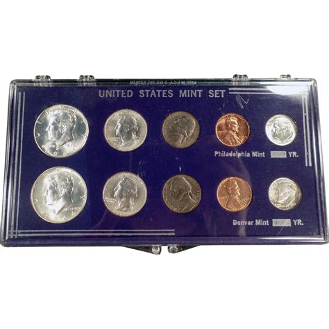 Set Mint united states mint set 1964 philadelphia denver 10