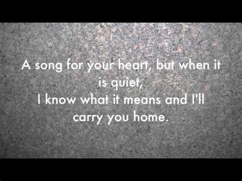 blunt carry you home lyrics
