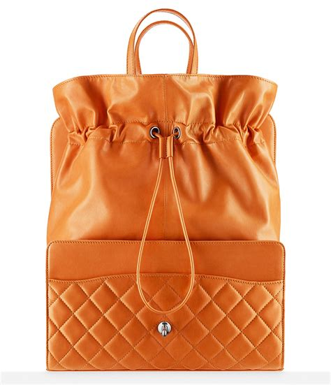 Via Repubblica Drawstring Shopper by Chanel S Supermarket Themed Fall 2014 Bags In Stores Now