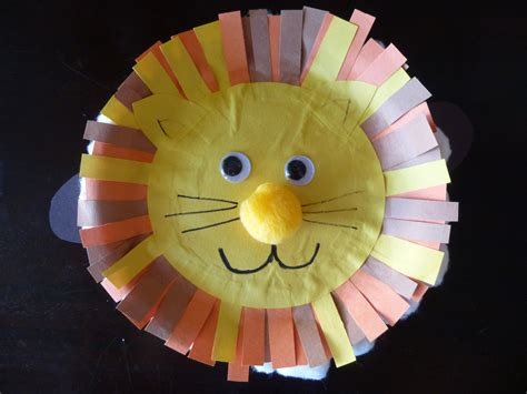 How To Make Masks Out Of Paper Plates - march in like a and out like pinteres