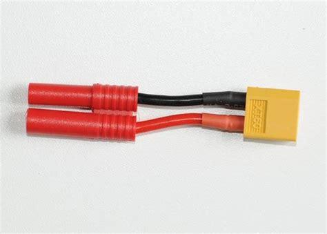 4mm Banana To 6 X Xt60 In Parallel adapter banana hxt 4mm to xt 60 xt 60 killerplanes