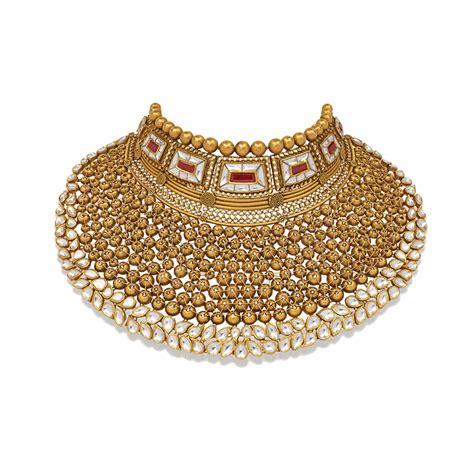 Handmade Gold Jewellery Designs - handmade bridal gold jewellery designs indian polki