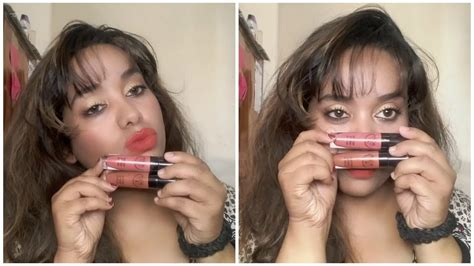 Lipgloss Pac pac retro matte lipgloss review and swatches