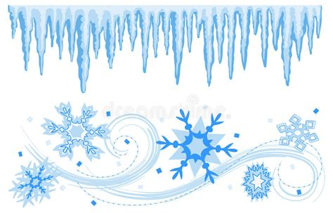 Winter Banners Borders Eps Stock Vector Illustration Of Borders 19590496 Winter Banner Templates
