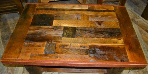 Rustic Barnwood Furniture by Collage Barnwood Coffee Table Rustic Furniture Mall By