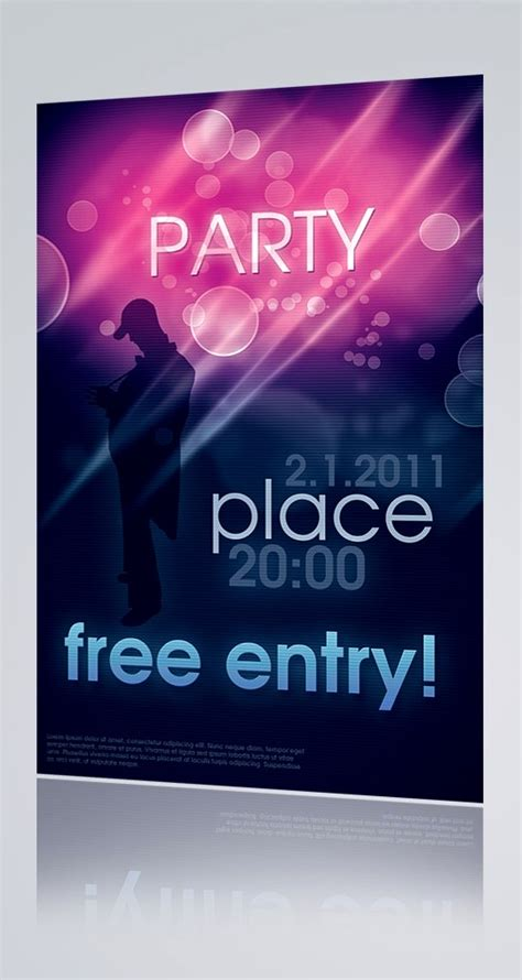 60 free psd poster and flyer templates updated
