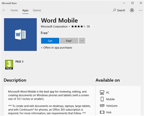 microsoft office free for mobile yes get microsoft word for free here is how