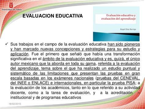 Diseño Curricular Definicion Diaz Barriga Diaz Barriga Pensadores De La Evaluacion Educativa