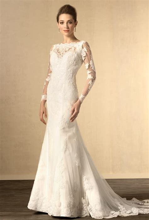 Wedding Gowns with Long, Beautiful Lacey Sleeves   I Do