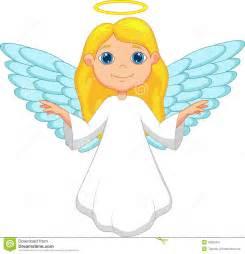 white angel cartoon stock image image 33230431