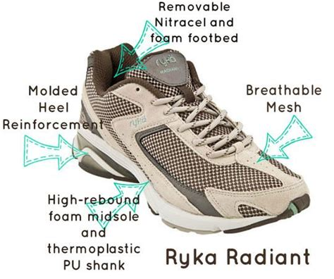 ryka radiant walking shoes ryka radiant fitness walking shoe