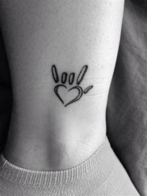 tattoo i love you sign language i love in sign language tattoo google search tattoo