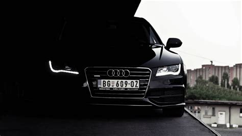 audi headlights in dark wallpaper a7 free download wallpaper dawallpaperz