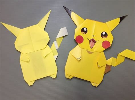 Pikachu Origami Advanced - pikachu origami advanced 28 images origami pikachu