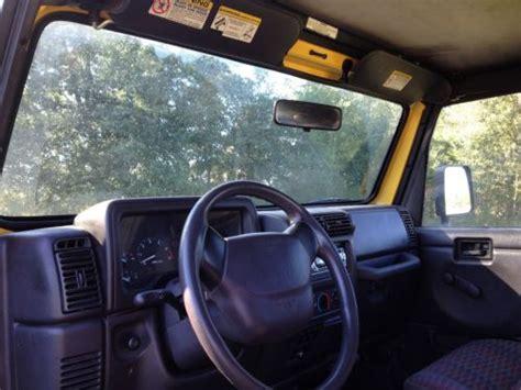2000 Jeep Wrangler Automatic Transmission Buy Used 2000 Black Jeep Wrangler Automatic Transmission