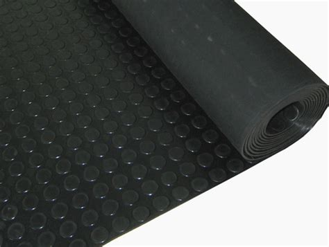 studded rubber flooring the rubber company