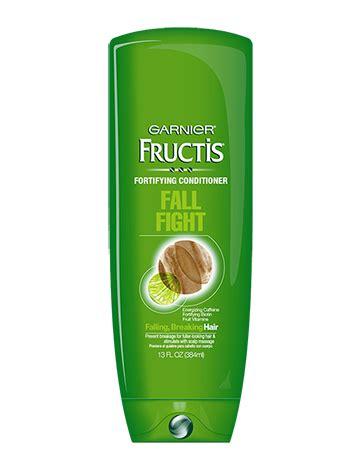 free sle garnier fructis fall fight shoo and fructis fall fight conditioner for falling breaking hair 13 oz