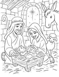 preschool coloring pages of baby jesus coloring mary joseph and the baby jesus kids korner