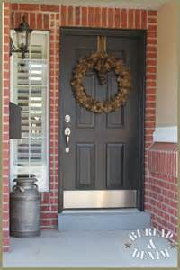 Front Door Colors With Red Brick by 17 Best Ideas About Red Brick Houses On Pinterest Red