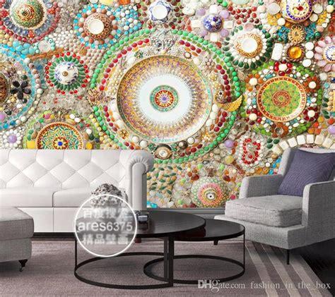 Mosaic Wallpaper For Walls