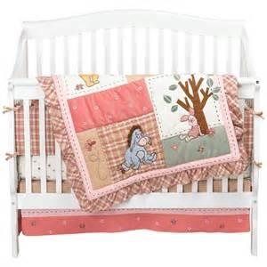 Comforter sheet bumper dust ruffle crib sheet disney pooh crib bedding