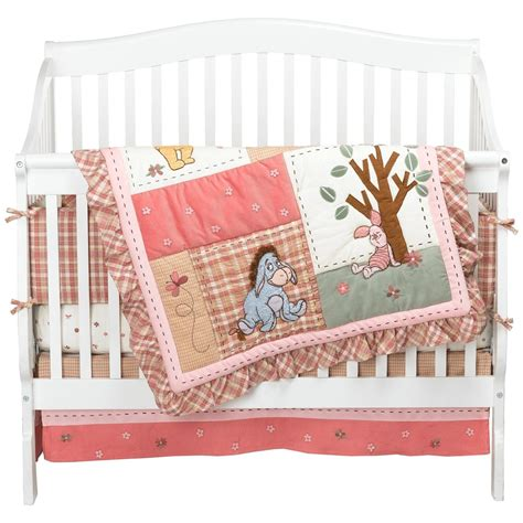 Baby Rooms Decor Nursery Bedding Sets Winnie Pooh Crib Bedding Set