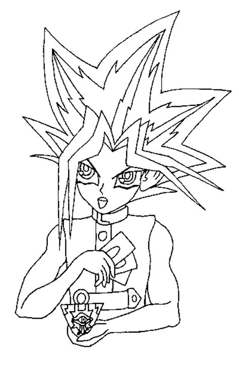 print coloring pages yugioh coloring yugioh page