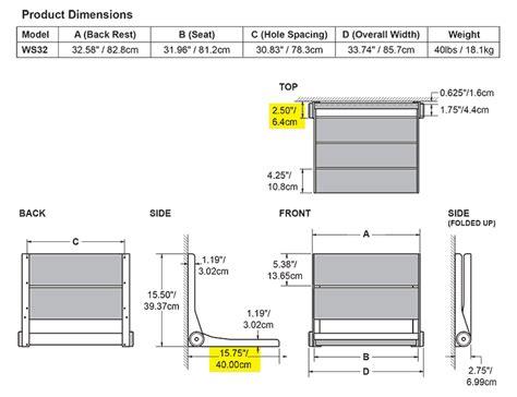 ada bench dimensions ada compliant shower dimensions home design mannahatta us