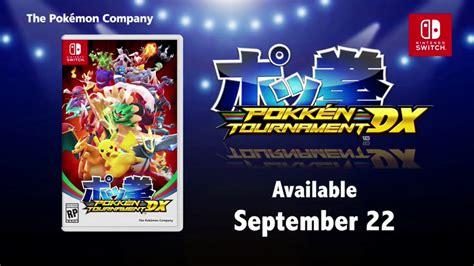 Nintendo Switch Pokken Tournament Dx pokken tournament dx announced for the nintendo switch