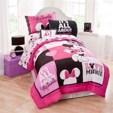 Minnie Mouse Bedding Set Minnie Mouse Bedding Pinterest
